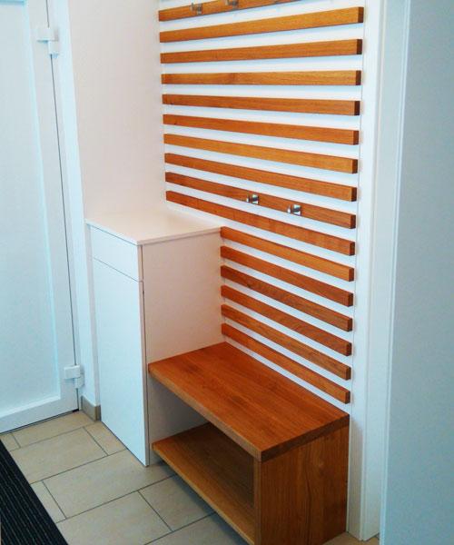 garderobe schreinerei reif alles aus einer hand. Black Bedroom Furniture Sets. Home Design Ideas